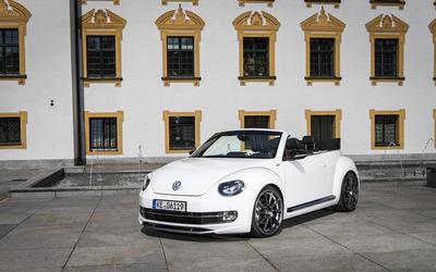 2014 ABT Volkswagen Beetle Cabrio front side view wallpaper
