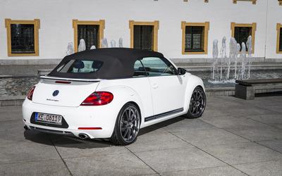 2014 ABT Volkswagen Beetle Cabrio with top on wallpaper