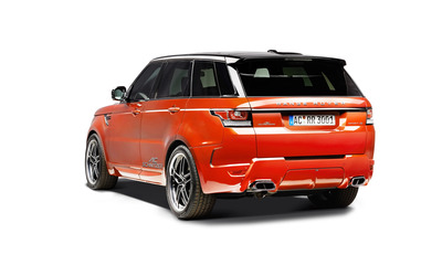 2014 AC Schnitzer Land Rover Range Rover back side view Wallpaper