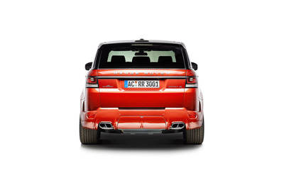 2014 AC Schnitzer Land Rover Range Rover back view wallpaper