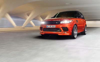 2014 AC Schnitzer Land Rover Range Rover front view Wallpaper