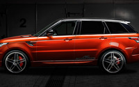 2014 AC Schnitzer Land Rover Range Rover in a warehouse wallpaper 1920x1080 jpg