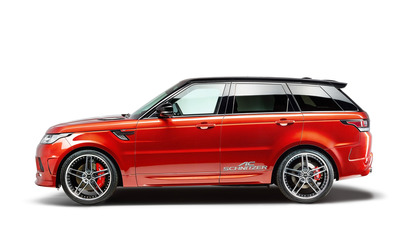 2014 AC Schnitzer Land Rover Range Rover side view wallpaper