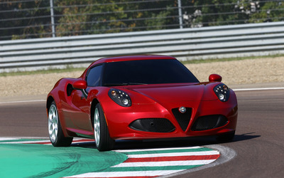 2014 Alfa Romeo 4C [25] wallpaper