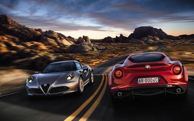 2014 Alfa Romeo 4C wallpaper