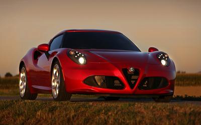 2014 Alfa Romeo 4C [6] wallpaper