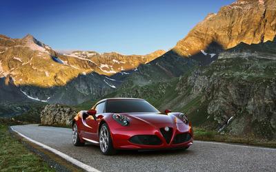 2014 Alfa Romeo 4C [13] wallpaper
