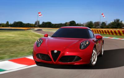 2014 Alfa Romeo 4C [31] wallpaper