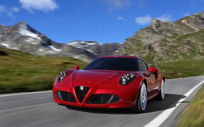 2014 Alfa Romeo 4C [32] wallpaper