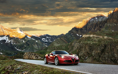 2014 Alfa Romeo 4C [4] wallpaper