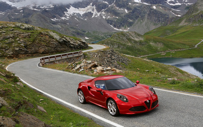 2014 Alfa Romeo 4C [7] wallpaper