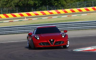 2014 Alfa Romeo 4C [20] wallpaper