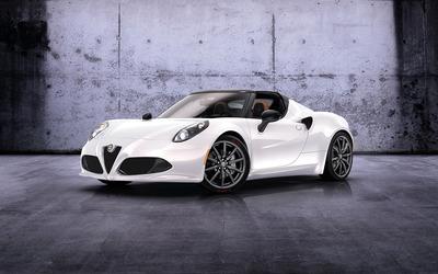 2014 Alfa Romeo 4C Spider [2] wallpaper