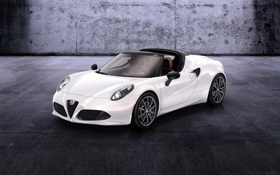 2014 Alfa Romeo 4C Spider wallpaper