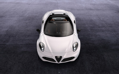2014 Alfa Romeo 4C Spider [4] wallpaper