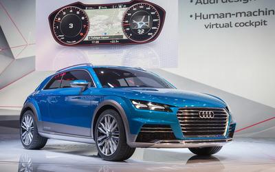 2014 Audi allroad quattro e-tron [4] wallpaper