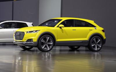 2014 Audi TT Offroad e-tron [2] wallpaper