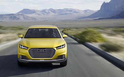 2014 Audi TT Offroad e-tron [6] wallpaper
