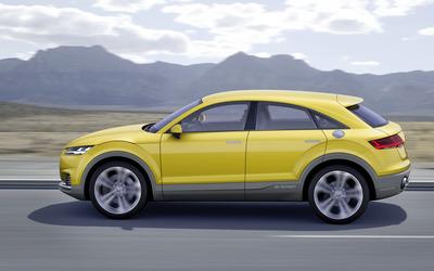 2014 Audi TT Offroad e-tron [4] wallpaper