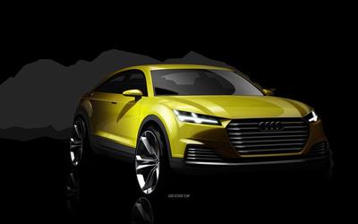 2014 Audi TT Offroad e-tron wallpaper