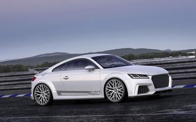2014 Audi TT quattro Sport [2] wallpaper