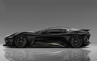 2014 Black Infiniti Vision Gran Turismo concept side view wallpaper 1920x1080 jpg