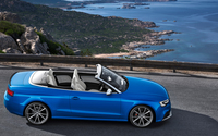 2014 Blue Audi RS5 Cabriolet side view wallpaper 1920x1080 jpg