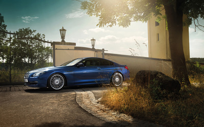 2014 BMW Alpina B6 BiTurbo Coupe [3] wallpaper