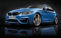 2014 BMW M3 Sedan [2] wallpaper 2560x1600 jpg