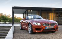 2014 BMW Z4 front view wallpaper 1920x1080 jpg