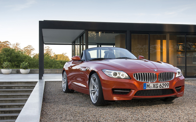2014 BMW Z4 front view wallpaper