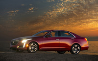 2014 Cadillac CTS-V sport wallpaper 2560x1600 jpg