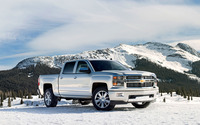 2014 Chevrolet Silverado [2] wallpaper 2560x1440 jpg