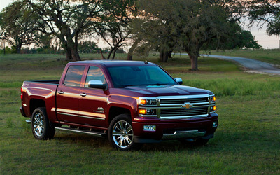 2014 Chevrolet Silverado wallpaper