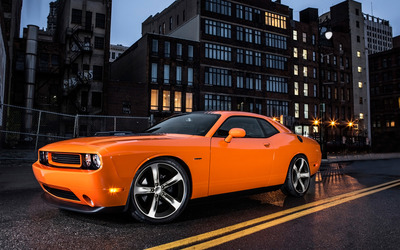2014 Dodge Challenger RT Shaker wallpaper