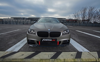 2014 Fostla BMW 550i front view wallpaper