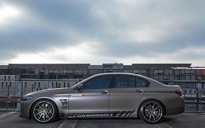2014 Fostla BMW 550i side view wallpaper
