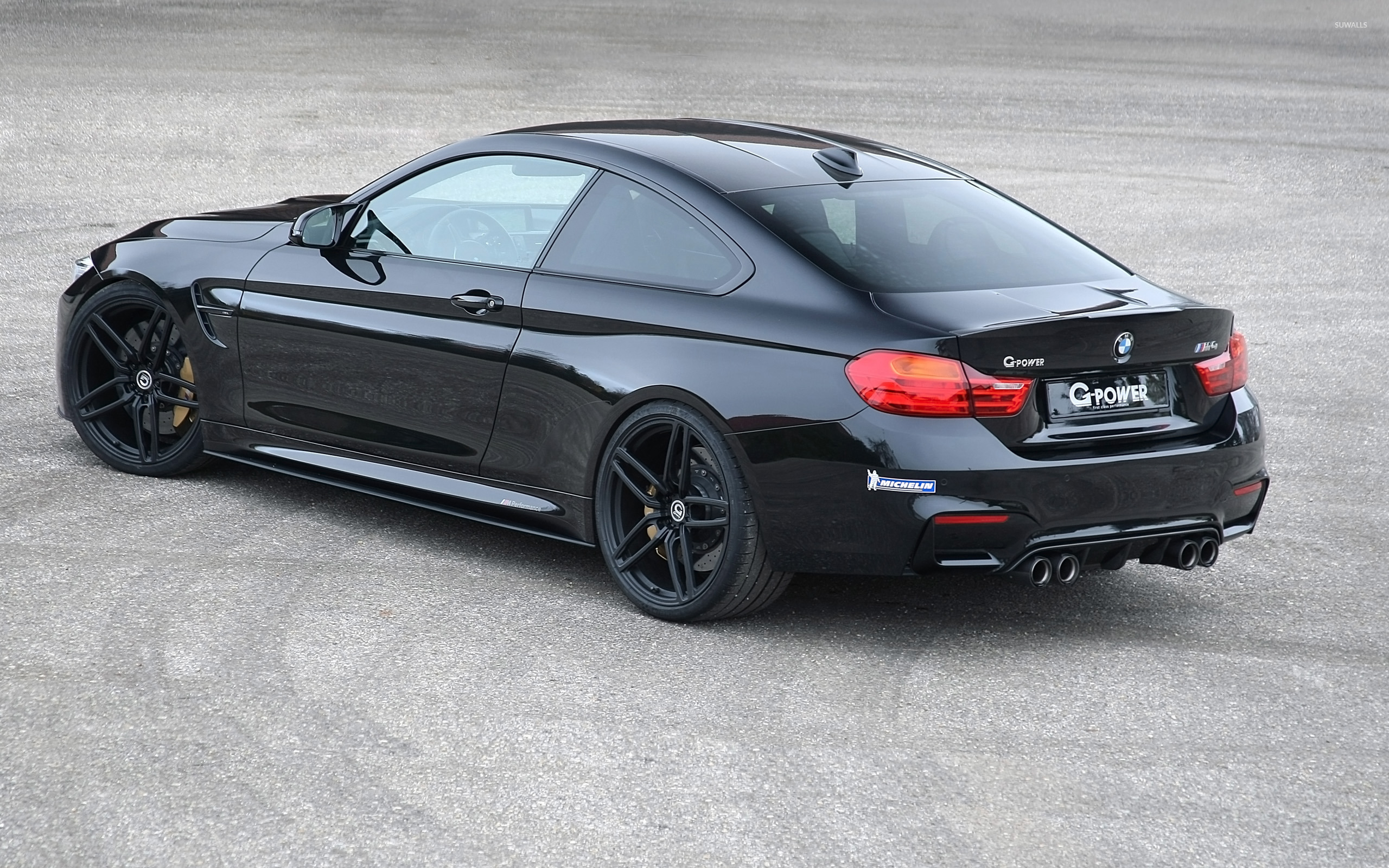 2014 G Power Bmw M4 Back Side View From Top Wallpaper Car
