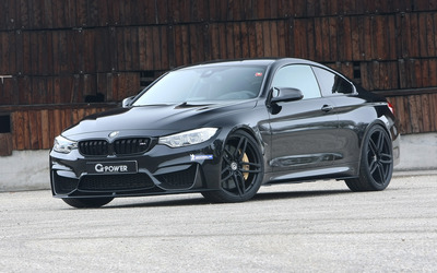 2014 G Power BMW M4 front side view wallpaper