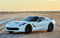 2014 Hennessey Chevrolet Corvette Stingray HPE500 wallpaper 2560x1440 jpg