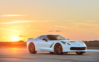 2014 Hennessey Chevrolet Corvette Stingray HPE500 [2] wallpaper 2560x1600 jpg