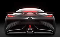 2014 Infiniti Vision Gran Turismo concept back view close-up wallpaper 1920x1080 jpg