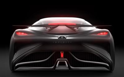 2014 Infiniti Vision Gran Turismo concept back view close-up wallpaper