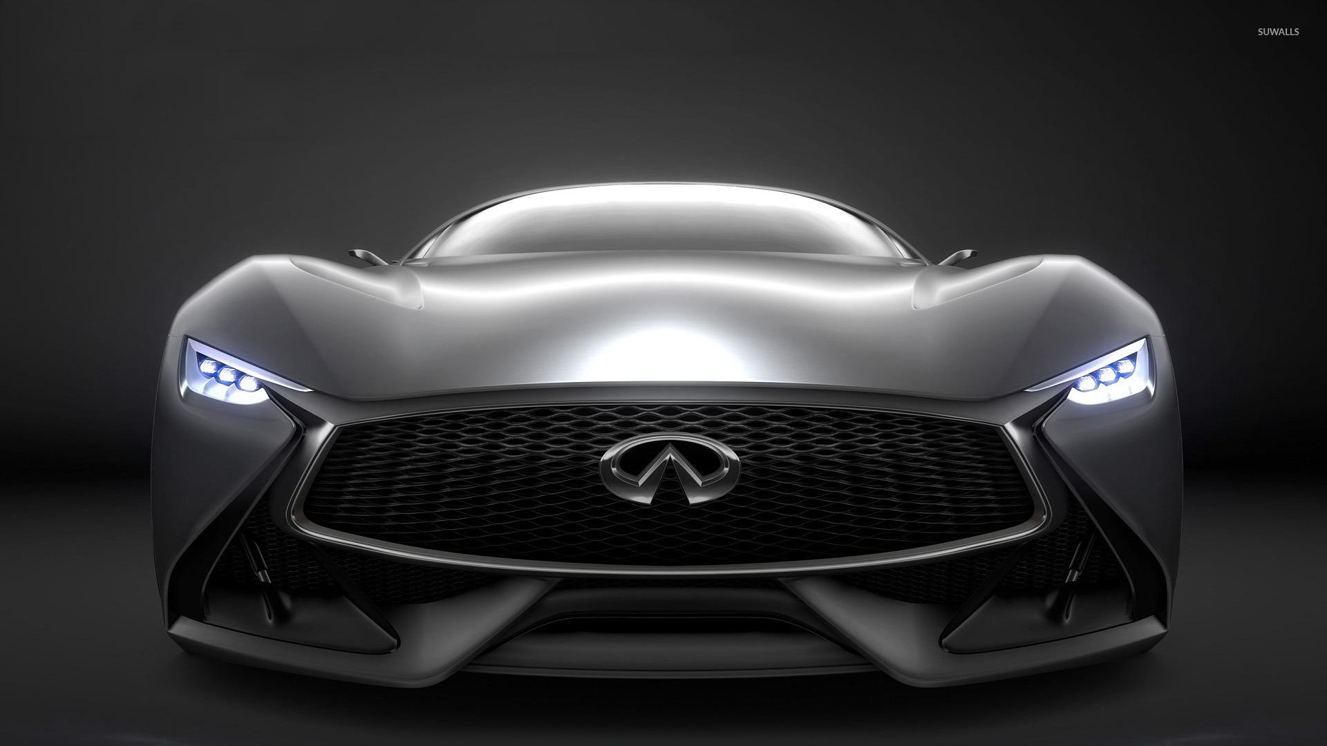2014 Infiniti Vision Gran Turismo Concept Front Close Up Wallpaper