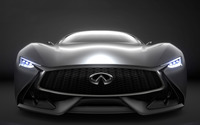 2014 Infiniti Vision Gran Turismo concept front close-up wallpaper 1920x1080 jpg