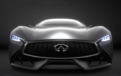 2014 Infiniti Vision Gran Turismo concept front close-up wallpaper