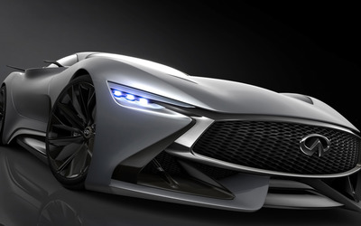 2014 Infiniti Vision Gran Turismo concept front side close-up wallpaper