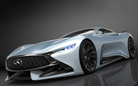 2014 Infiniti Vision Gran Turismo concept front side view wallpaper 1920x1080 jpg