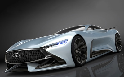 2014 Infiniti Vision Gran Turismo concept front side view wallpaper