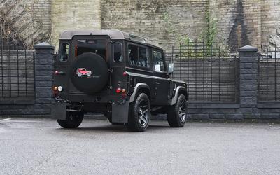 2014 Kahn Land Rover Defender back view wallpaper